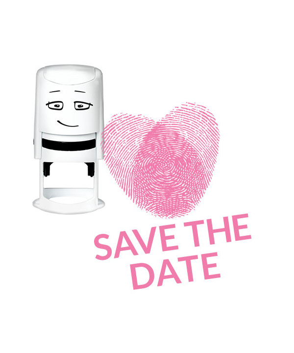 Timbro NIO - Save The Date – Forensic Heart
