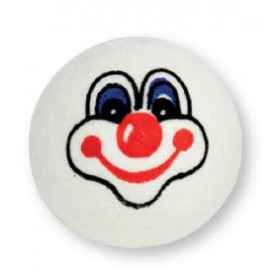 testa d'ovatta clown