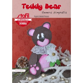 Kit moosgummi Teddy bear