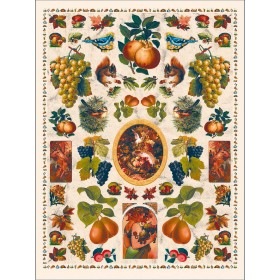 Carta da decoupage autunno