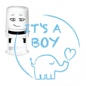 Timbro NIO - It's A Boy - Elephant