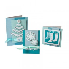 Fustelle Thinlits set cartolina Natale