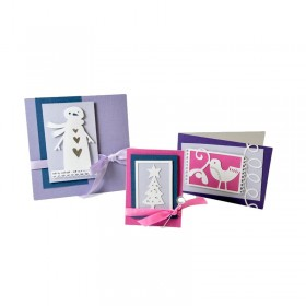 Fustelle Thinlits set cartolina Natale 2