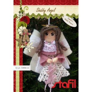 Kit feltro/moosgummi shabby angel