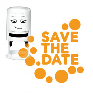Timbro NIO - Save The Date – Dots