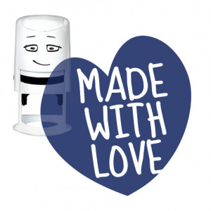 Timbro NIO - Made With Love - Heart